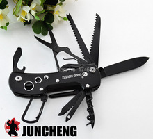 Ferramentas Outdoor multifunctional Knife folding army knife never fade survival knife multi tool Pocket Knife Free shipping