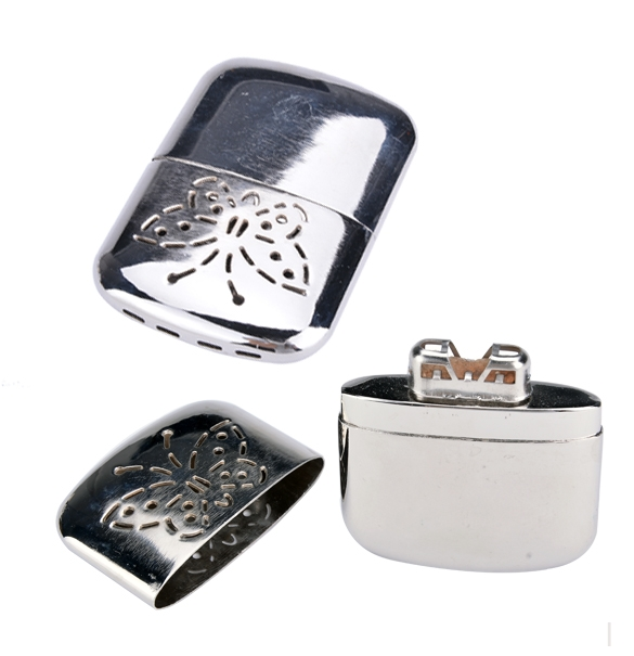 Гаджет  Newest Warmer Butterfly Portable Handy Warmer Pocket Rechargeable Warmers Stainless Steel Heater For Winter Use None Бытовая техника