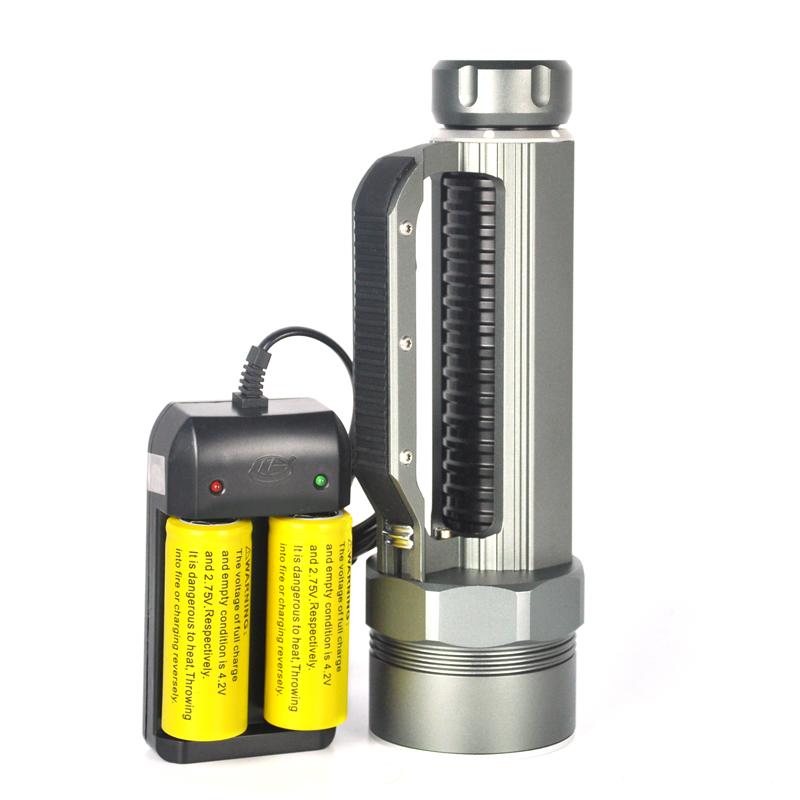 60W 6X L2 LED Dive Light 12000Lm Portable Diving XML L2 LED Flashlight Flah Light Waterproof Torch Lamp Lanterna <br><br>Aliexpress