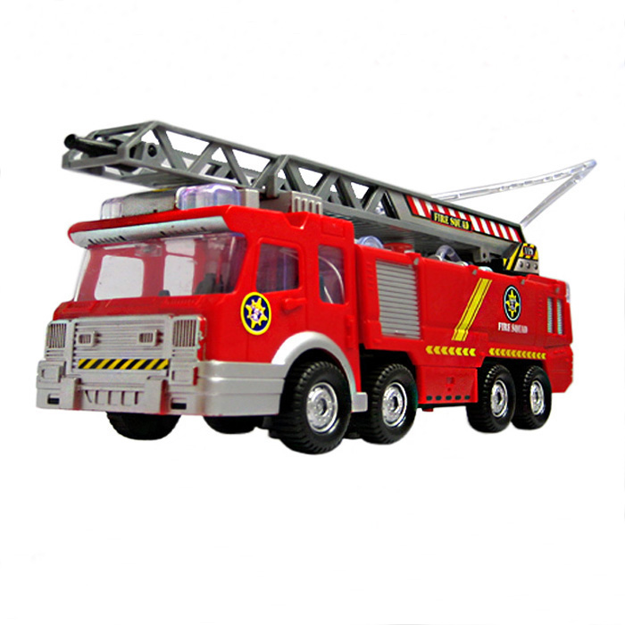 Juguetes Fireman Sam Kids Toys Fire Truck Car With Music Led For Children Boy Toy Fire Truck Educational Water Spray Toy(China (Mainland))
