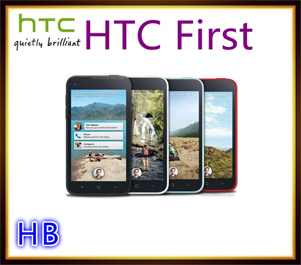 "HTC First Original 4.3"" Mobile Phone 1GB RAM 16GB ROM 5MP Camera Unlocked 3G GPS Wifi Android Cell phone(China (Mainland))"