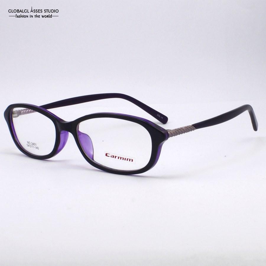 New Design Popular Black Outside Purple Inside Frame Purple Temple With Special Detial Women Female Eye