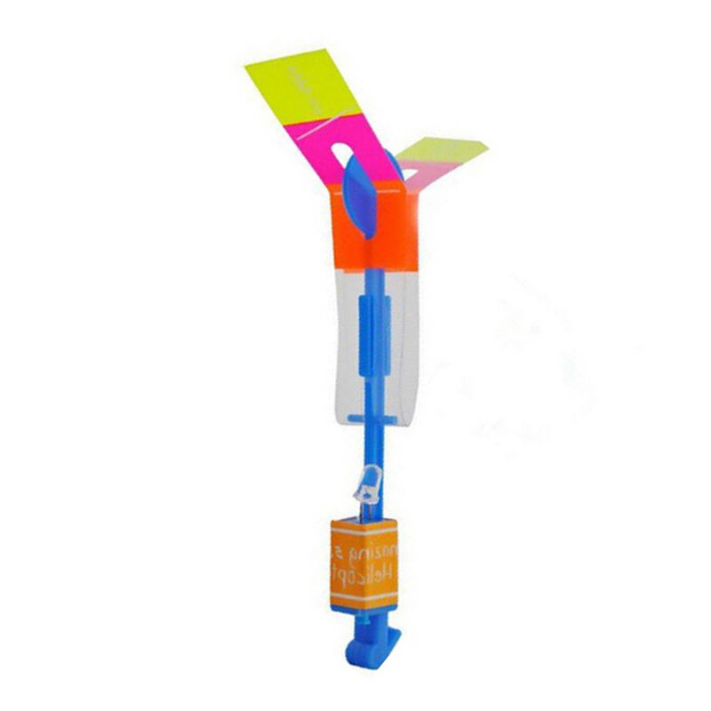Party Fun Gift LED Light Arrow Rocket Helicopter Flying Toy Free Shipping(China (Mainland))