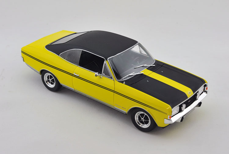 1:18 Voiture Car Brinquedos For Vintage Commodore GS-E Yellow Die Cast Metal Model Kids Toys Men Gift Collection(China (Mainland))