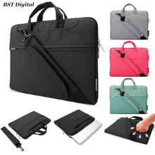 "11"" 13"" 15"" Laptop shoulder messenger bag for 11.6 13.3 15.4 inch macbook air pro retina Notebook case water-resistant Nylon(China (Mainland))"