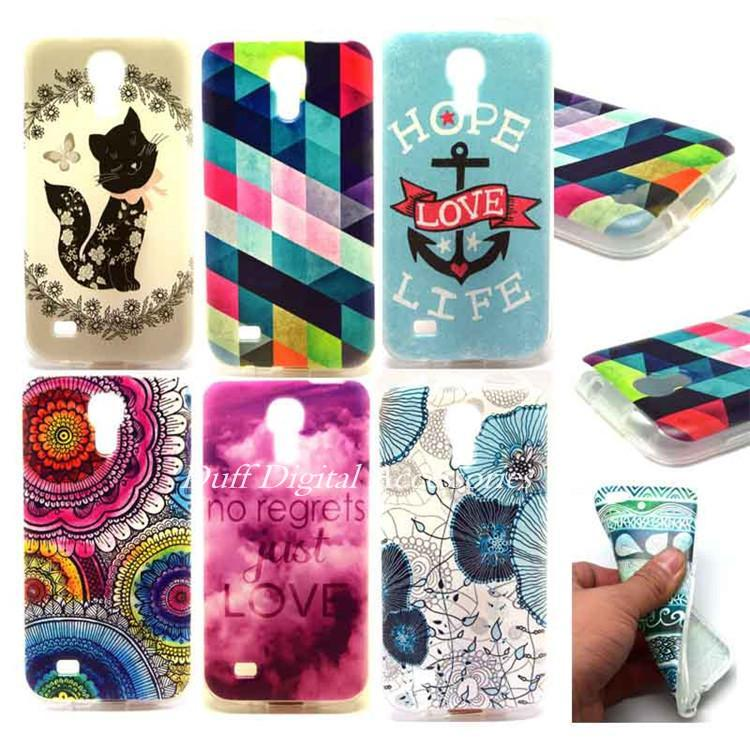 S4 Mini I9190 Ultra Thin Tpu Skidproof Soft Skin Transparent Frame Lovely Patterns Phone Cases Cover Fundas Coque Capa - Shenzhen 3C High-Tech Store store