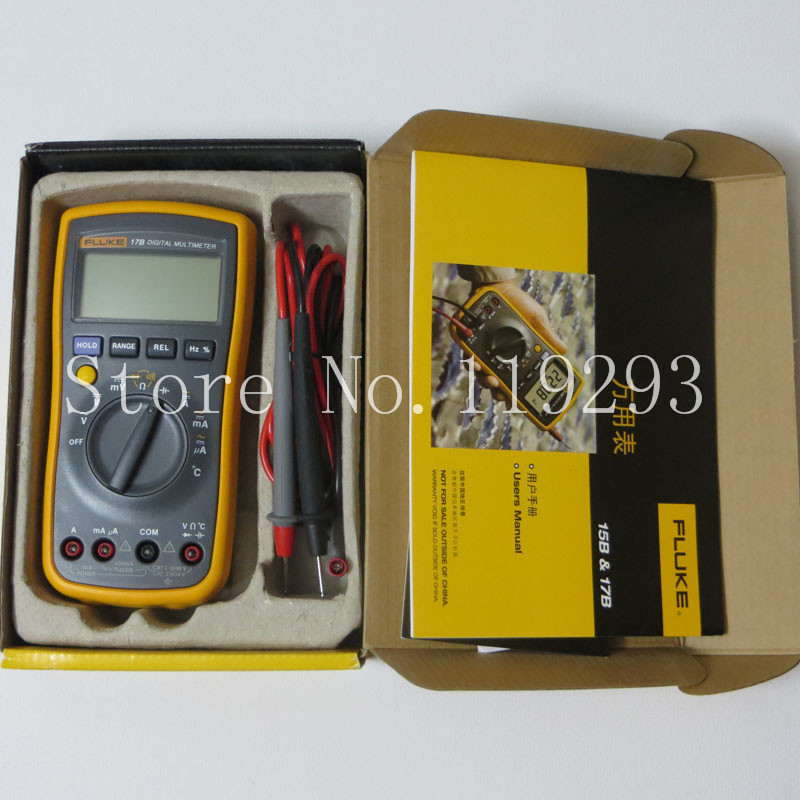 [SA]Fluke Multimeter 17B ( pen line is the coupled ) shooting in kind(China (Mainland))