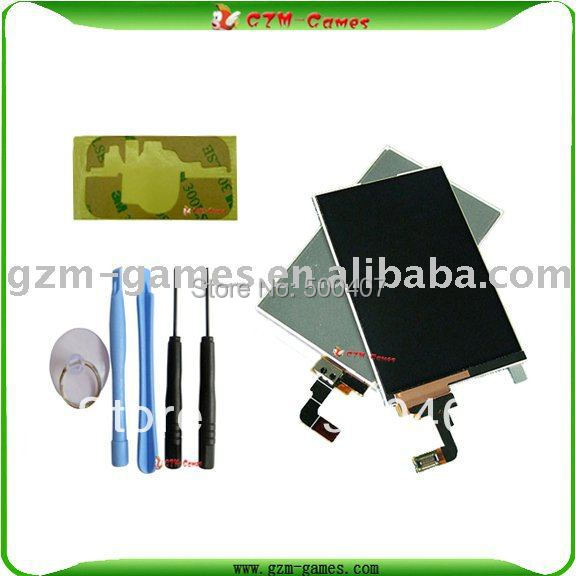 5pcs/lot for iphone 3G LCD with open tool and kit Free shipping(China (Mainland))
