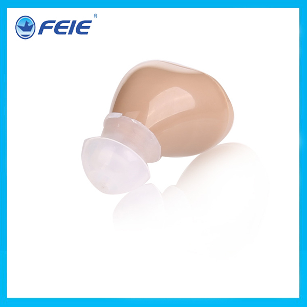 Analog in the ear wireless hearing aid cheap hearing aid products in China 2pcs lot free shipping