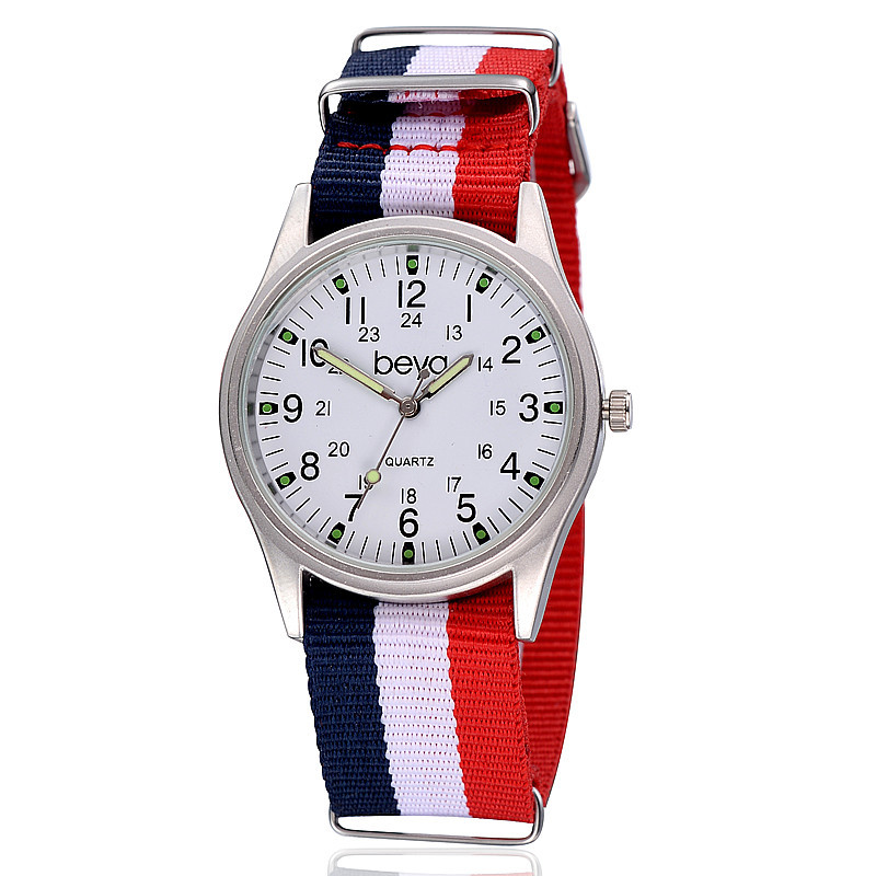 new arrival beya watches fabric canvas sports