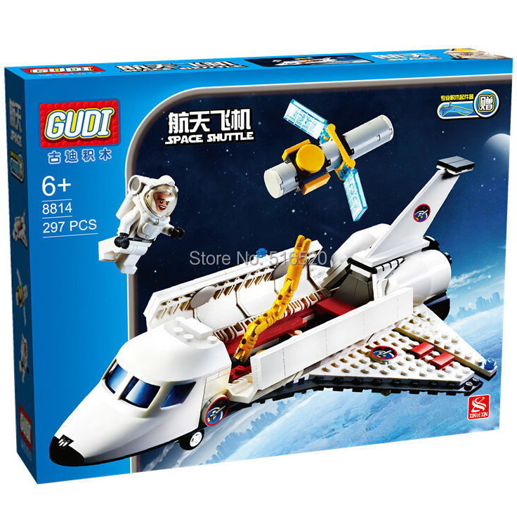 GUDI Space Shuttle Models Educational Assemble Building Block Toys(China (Mainland))
