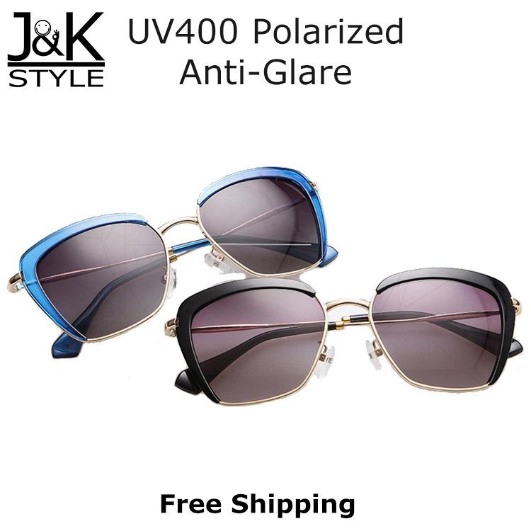 2015 Fashion Cat Eye Sunglasses Women Lady Brand Name Design Leopard Sun Glasses With Case Polarized oculos de sol feminino(China (Mainland))