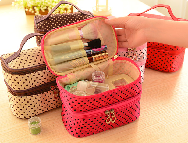 Cosmetic Case bag Women Makeup bags large capacity portable storage travel bags(China (Mainland))
