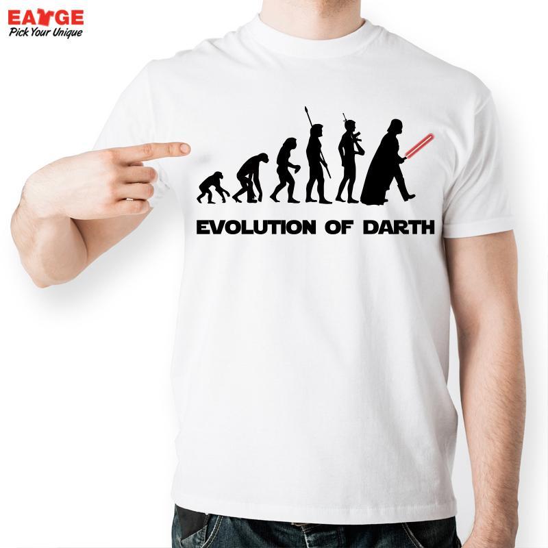 [MASCUBE]Men Casual Cool White Printed T Shirt Funny Evolution Warrior Tshirt Fashion Brand Short Sleeve T-shirt Summer Style(China (Mainland))