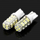 T10 12W 7000K 336-Lumen 28-1206 SMD LED White Light Car Dashboard Lamps (DC 12V / Pair)(China (Mainland))
