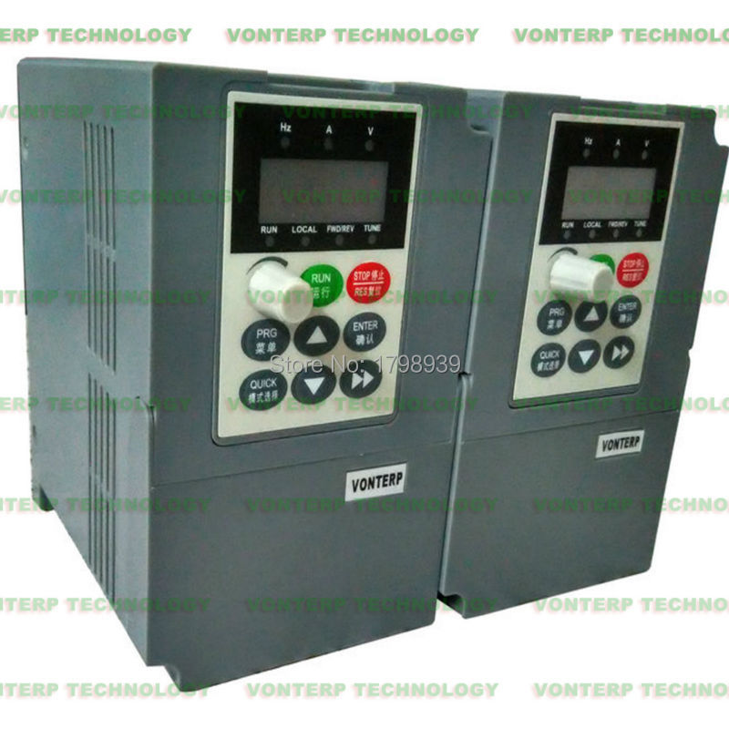 2.2KW 3 Phase 380V 5.1A Frequency Inverter Free Shipping Shenzhen Vector Control 3 Phase Output Variable Frequency Drive VFD(China (Mainland))