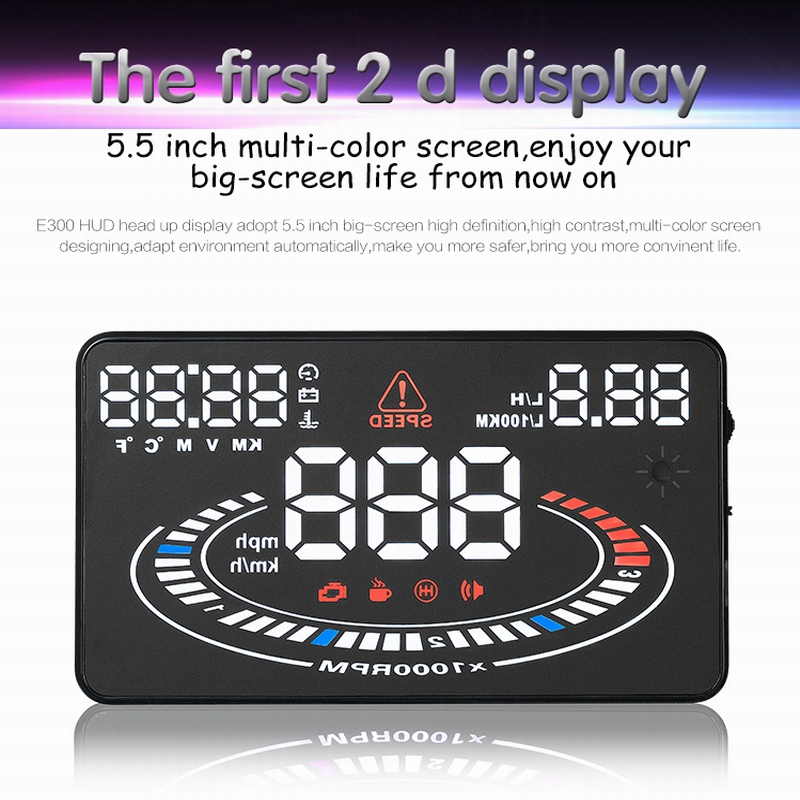 Car HUD Head Up Display For Volkswagen Golf GTI / Jetta - Saft Driving Screen Projector Inforamtion Refkecting Windshield(China (Mainland))
