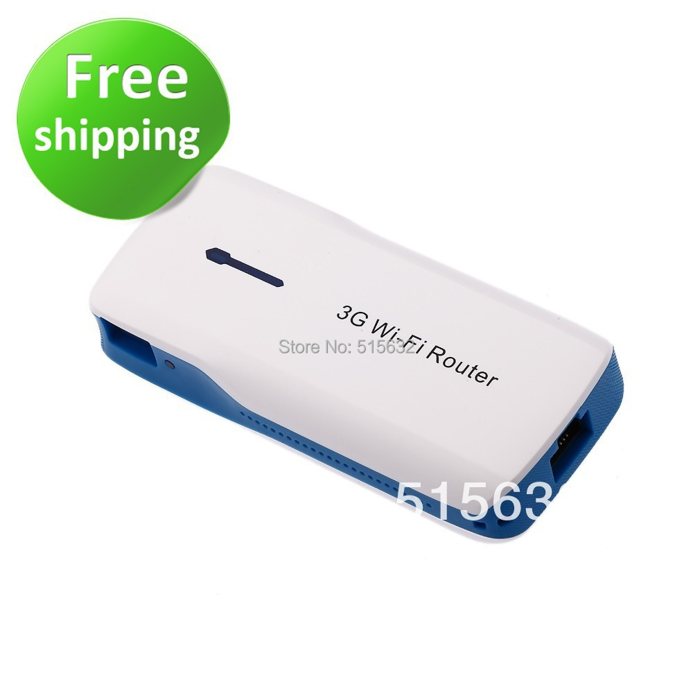 New Mini Wifi 3G Wireless Router 150Mbps with 5200mAh Mobile Power Bank Hotspot(China (Mainland))