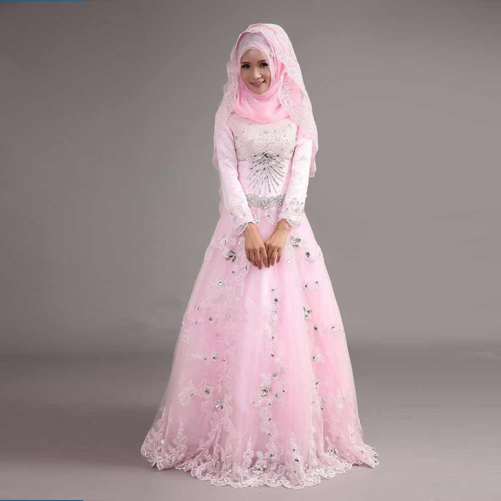 Popular Wedding Dresses That Muslim Wearbuy Cheap With For
