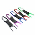 2pcs Aluminum Carabiner Water Bottle Buckle Hook Holder Clip Key Chain For Camping Hiking Survival Travel