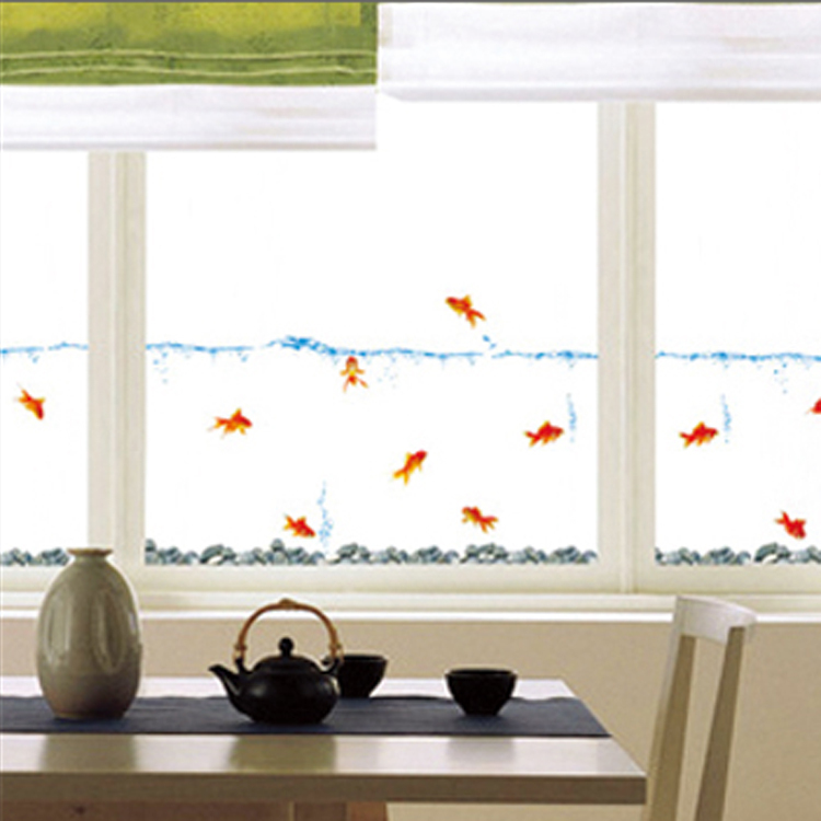 Sell hot bubble fish wall stickers decorative painting for Decorative mural painting