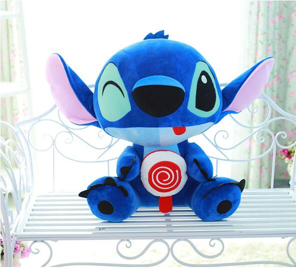 Free Shipping 30/35CM Cute Cartoon Froze Lilo and Stitch Plush Toy Doll Stuffed Toys Dolls Baby Toy(China (Mainland))