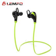 Lemfo Bluetooth 4.0 Earphone Headset Stereo Portable Wireless Handsfree Headphones Anti Sweat Sport Earbuds Universal For Mobile