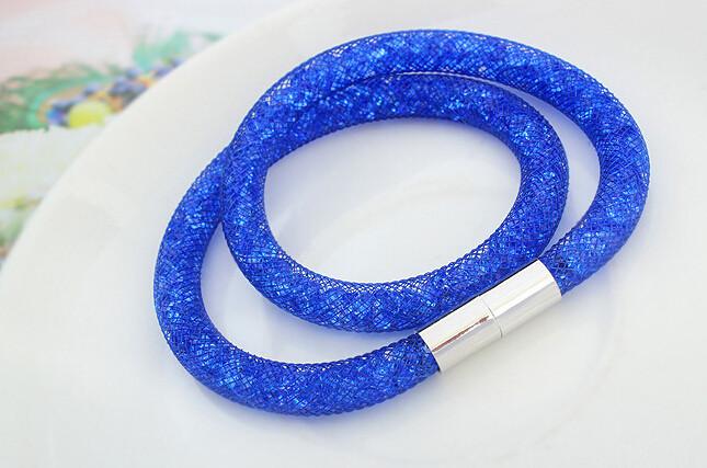 Новый Дизайн Браслетов и Браслеты Магнитные Сетки Двухместный Stardust Браслет Звездная Пыль Браслеты Кристаллами от SWAROVSKI
