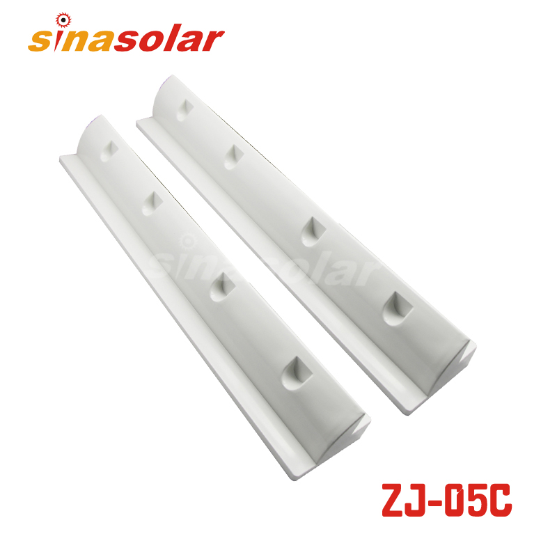Super Light White ABS 550mm Solar Panel Mounting Brackets For Caravan(China (Mainland))