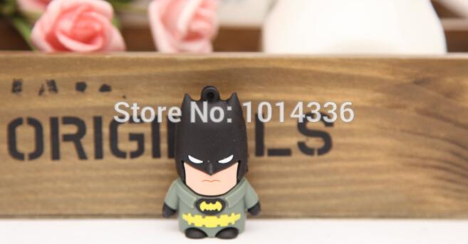 2/4/8/16/32GB cool Spiderman cartoon USB Flash Drive Stick Card Pen Thumb/Car/Pen creative Gift 2.0 creative Pendrive(China (Mainland))