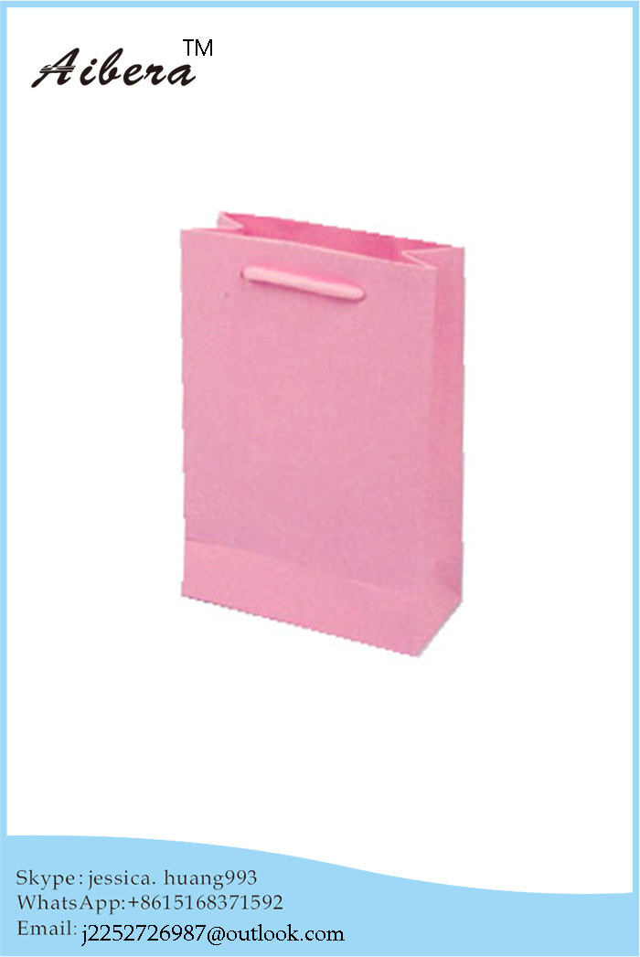 china custom made OEM available small pink paper bag with Competitive Price(China (Mainland))