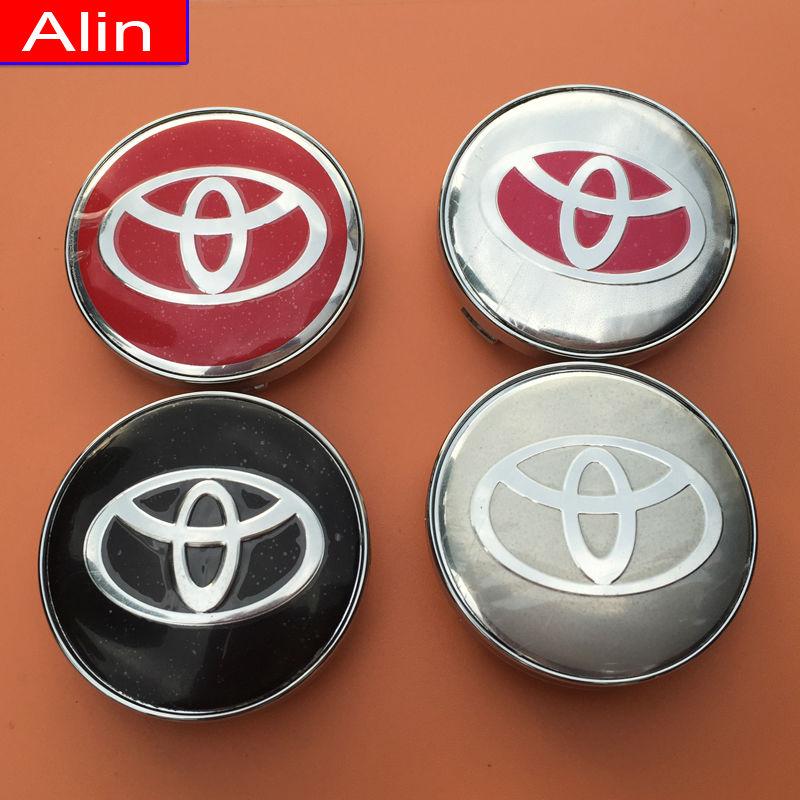 40pcs 60mm Toyota logo Wheel Center Hub Cap car rim Dust-proof Badge emblem covers Auto styling Free shipping(China (Mainland))