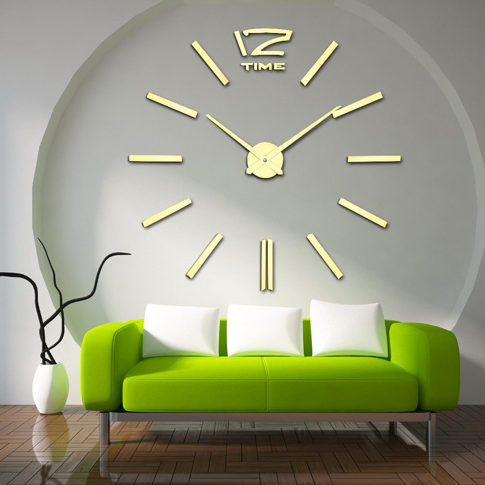 Wall clock decor ideas