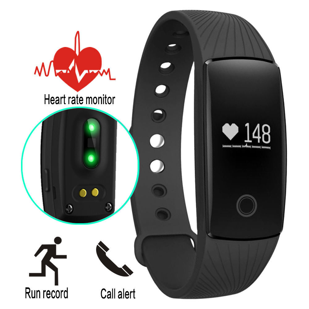 Diggro ID107 Heart Rate Smart Bracelet Watch Heart Rate Monitor Smart Band Wirel