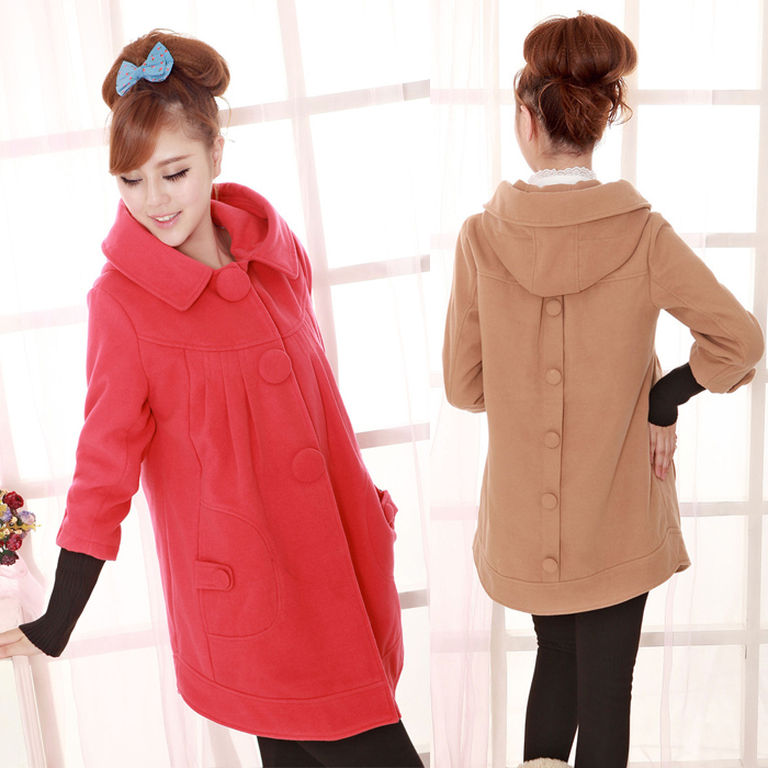 Free shipping 2013 winter new thick hooded cotton jacket pregnant women coat large size<br><br>Aliexpress
