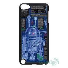 Fit for iPhone 4 4s 5 5s 5c se 6 6s 7 plus ipod touch 4/5/6 back skins cellphone case cover Star Wars Blueprint