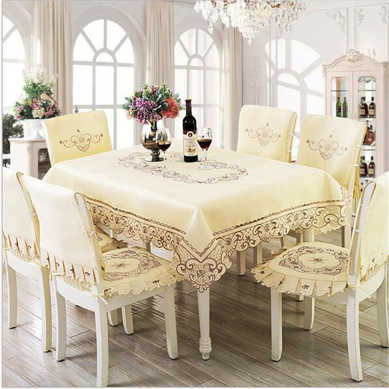 A variety of pastoral linen tablecloths flower embroidery lace cloth cover rectangular table wedding hot(China (Mainland))