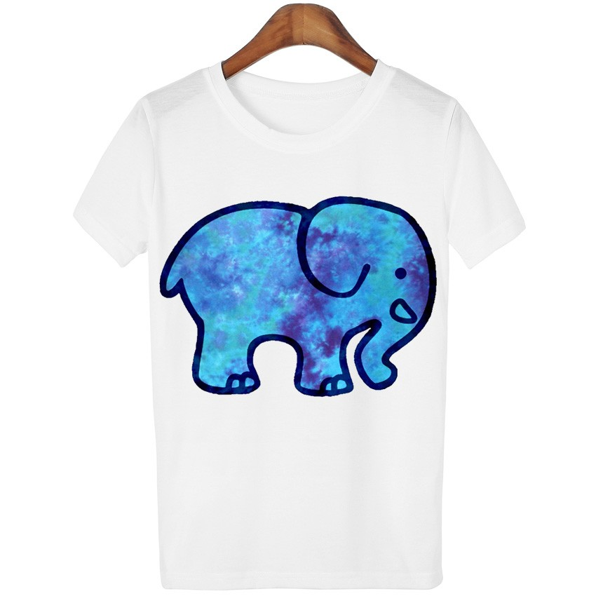 efc89dc715cac5 Detail Feedback Questions about New Fashion Galaxy Elephant T shirts ...