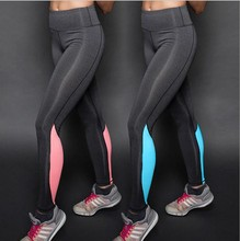 S-XLWomen Female quick drying wicking breathable stretch sport leggingsRunning Pants Yo&ga Workout Spinning GYM Fitness Leggings(China (Mainland))