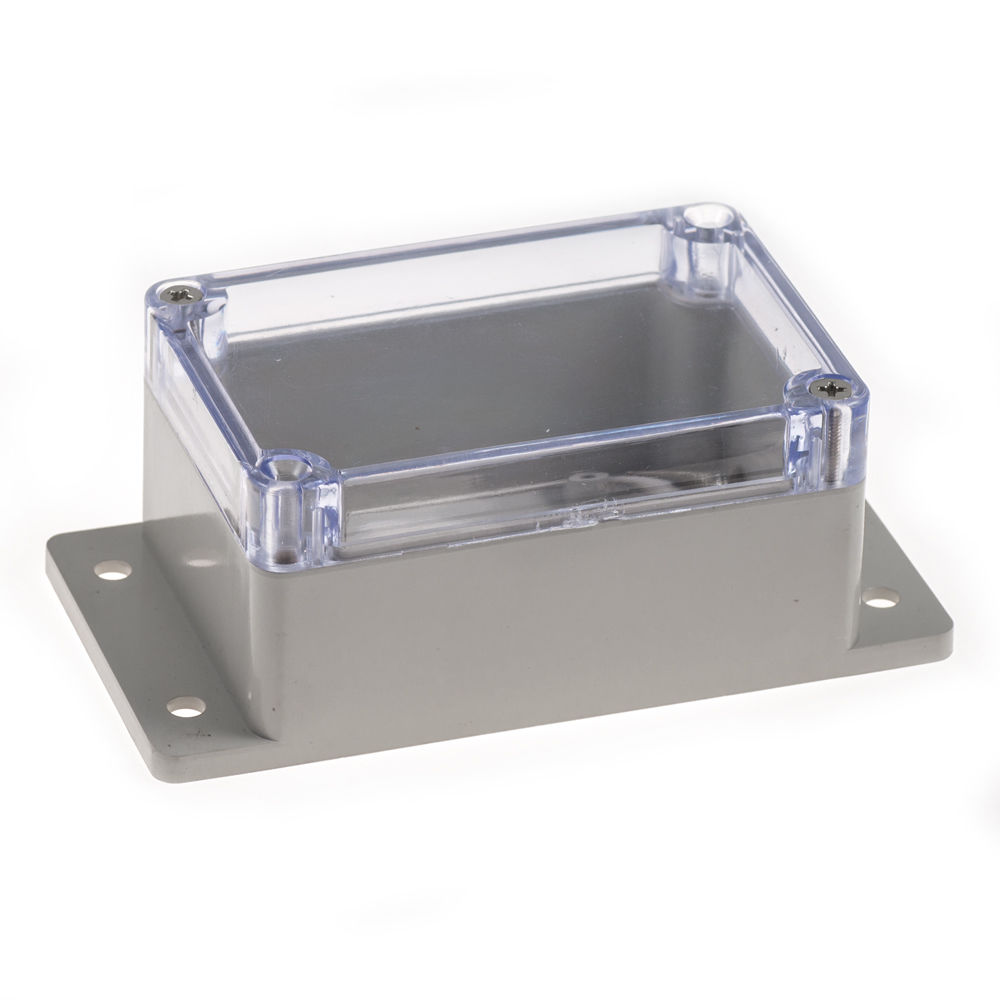 Clear Plastic Enclosure with Mount (Large) 100mm x 68mm x 50mm(China (Mainland))