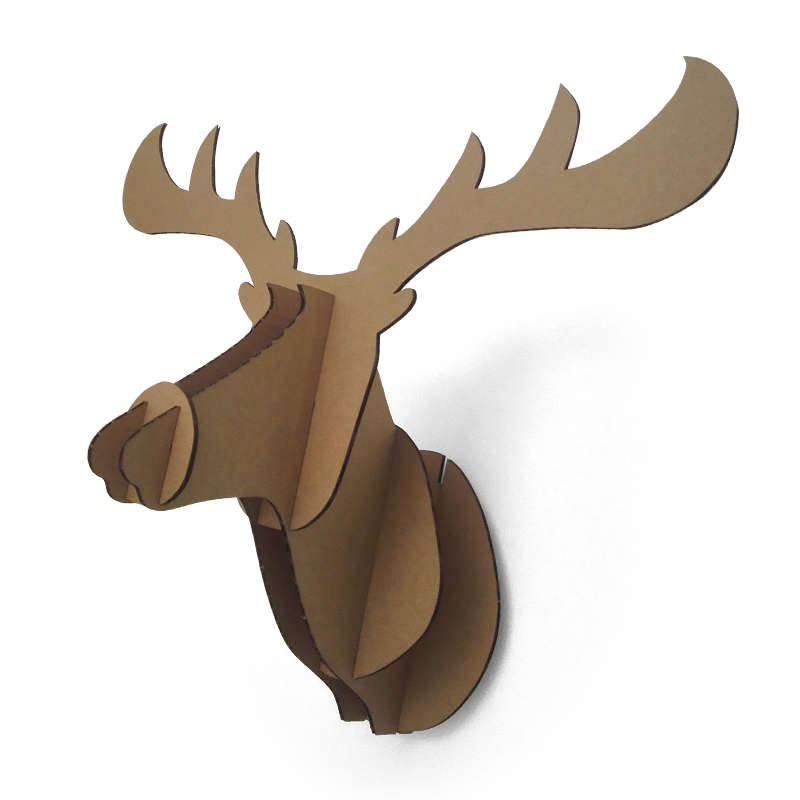 Online Get Cheap Cardboard Deer Head Diy Alibaba Group
