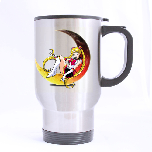 Sailor Moon Sexy Girl Customized Design Travel Mug