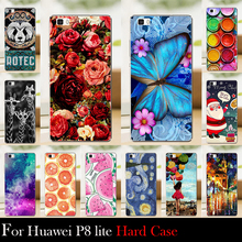 For Huawei P8 LITE Case Hard Plastic Cellphone Mask Case Protective Cover Housing Skin Mask Shipping Free