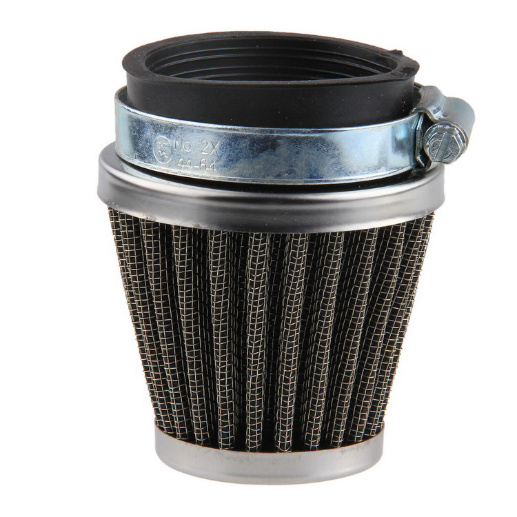 54mm Air Cleaner Filter Fit for Most Autobicycles Motorcycles Dirt Dust Tube Gauze High Filtration Clamp-on New Product(China (Mainland))
