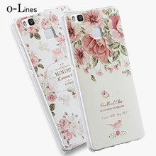High Quality Soft TPU 3D Relief Painting Stereo Feeling Back Cover Case For Huawei P9 Lite G9 Phone Bag For Huawei P9 Case Coque(China (Mainland))