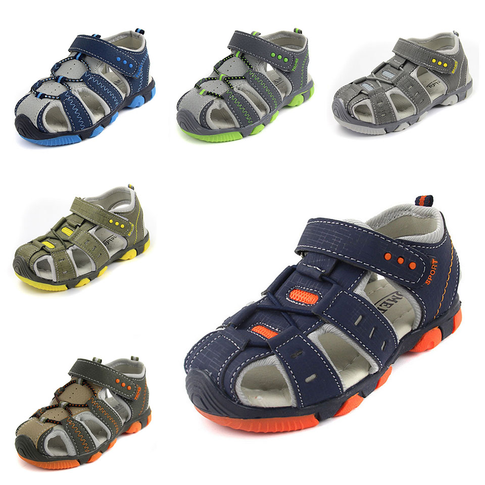 2016 New Style Baby Boys Girls Men Fashion Casual Sandals Shoes Anti-Slip Hollow Air Kids Children Sandals Sport Wholease 23-36(China (Mainland))