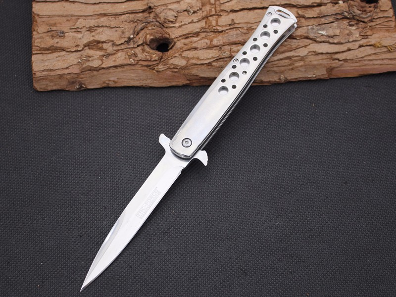 Buy Folding Knife JIANYU Survival Knifes 440 Steel Blade Steel Handle Pocket Hunting Tactical Knives Camping Outdoor EDC Tools y13 cheap