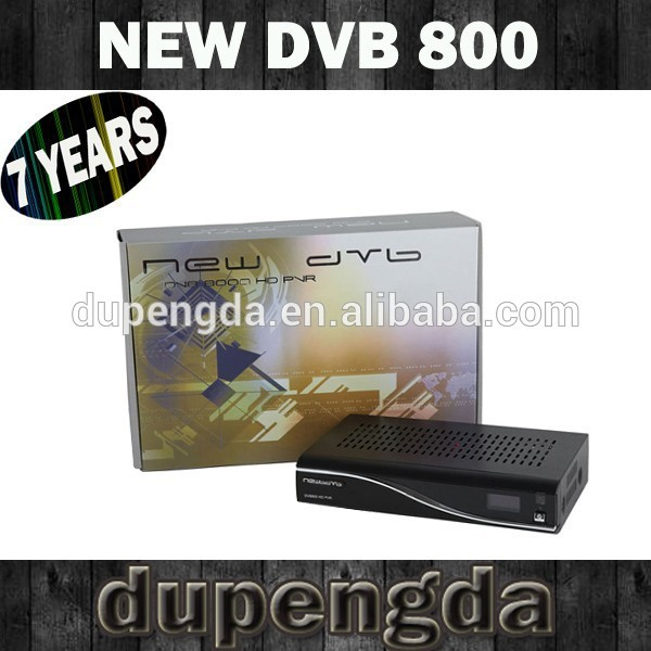 Factory Price ! Direct Selling Enigma 2 dvb s2 card sharing NEW DVB800HD PVR satellite receiver M tuner SIM2.1(China (Mainland))
