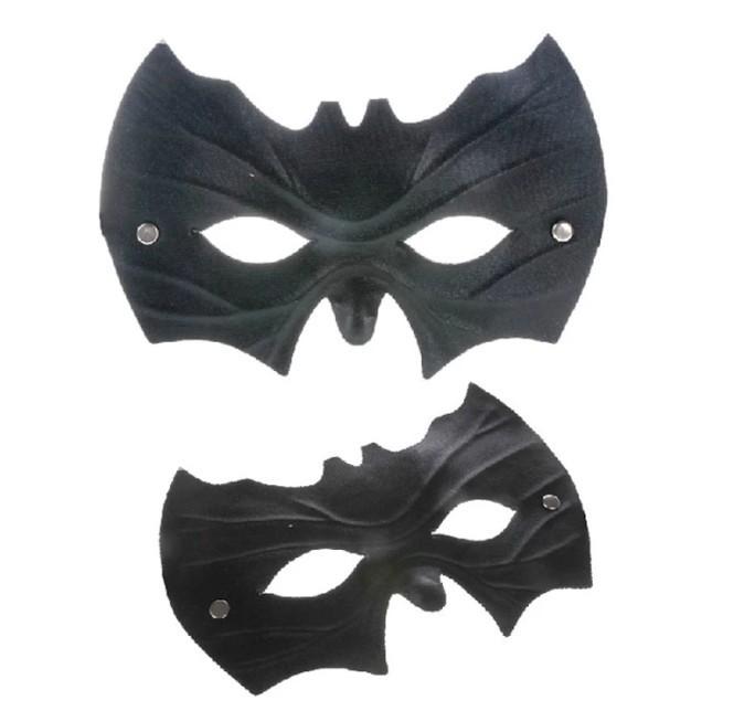 SDFC 2pcs/lot Fashion Halloween Black Mask Masquerade Party Masks Batman Face Costume Masks 11-580(China (Mainland))