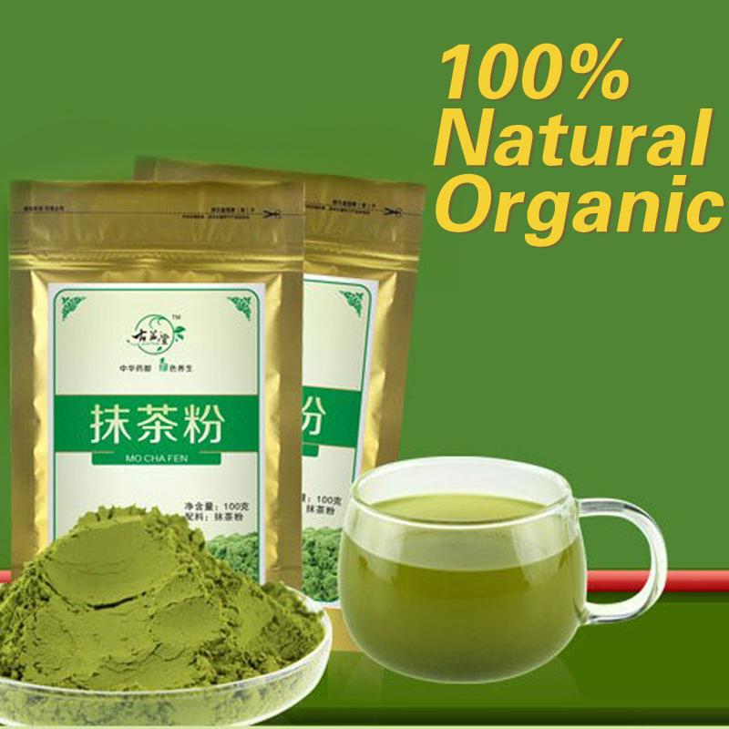 100g*2 Promotion! premium china matcha green tea powder natural organic matcha tea of slimming buy direct from china food.(China (Mainland))